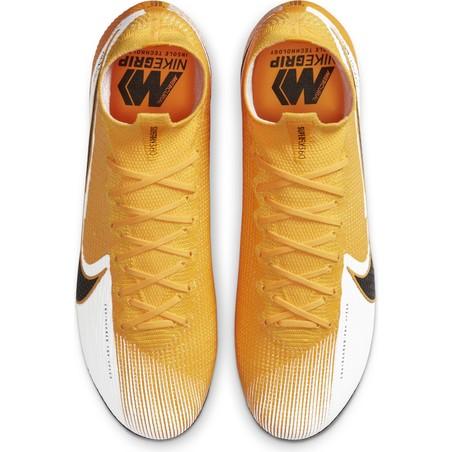 Nike Mercurial Superfly VII Elite Anti-Clog SG-PRO jaune