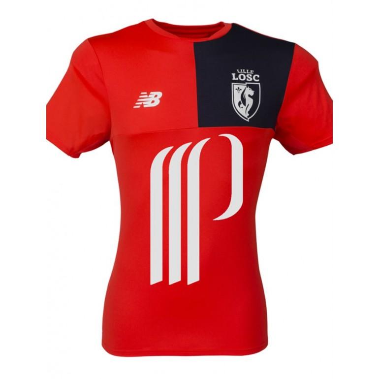 T-Shirt entraînement LOSC bleu marine 2016 - 2017
