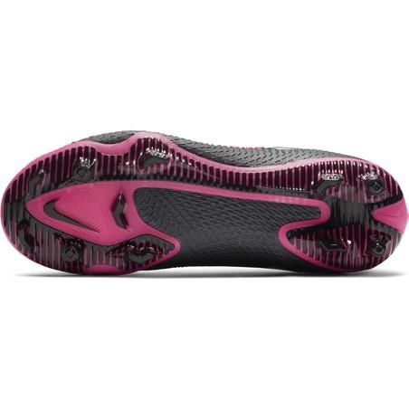 Nike Phantom junior GT Pro FG basse noir rose