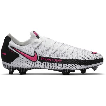 Nike Phantom junior GT Pro FG basse blanc rose