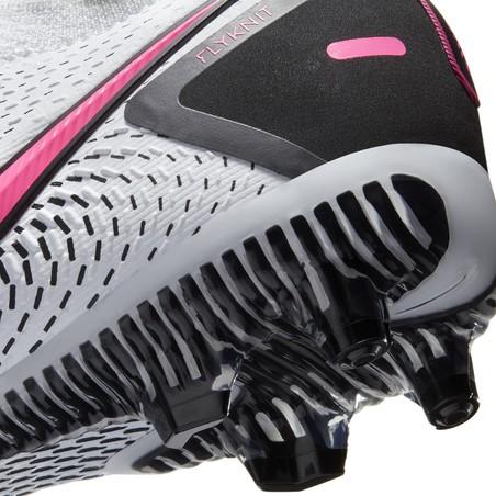 Nike Phantom junior GT Pro FG basse blanc rose