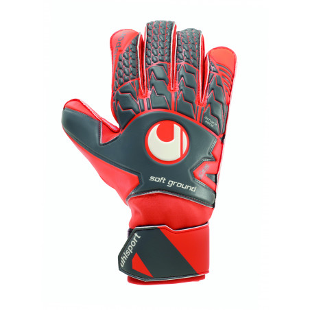 Gants Gardien Uhlsport Soft Pro gris orange
