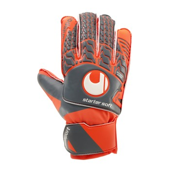 Gants Gardien junior Uhlsport Startersoft gris orange