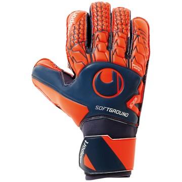 Gants Gardien Uhlsport Soft Pro bleu orange