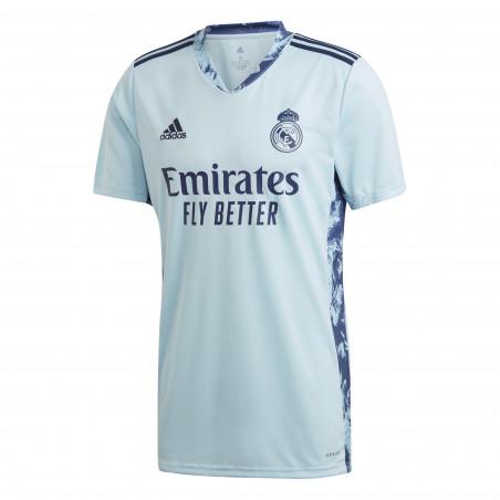 Maillot gardien Real Madrid bleu 2020/21