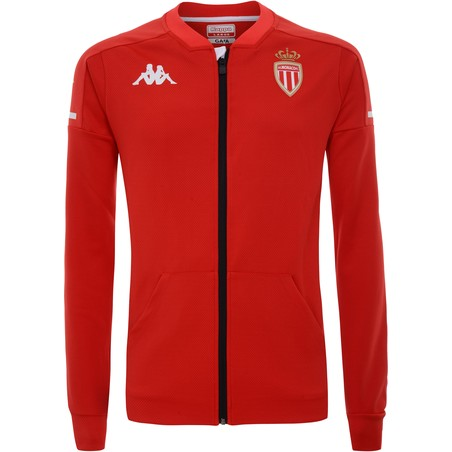 Veste survêtement AS Monaco rouge 2020/21