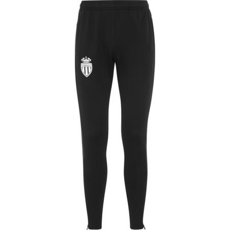 Pantalon survêtement junior AS Monaco noir 2020/21