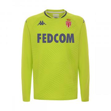 Maillot gardien junior AS Monaco jaune 2020/21
