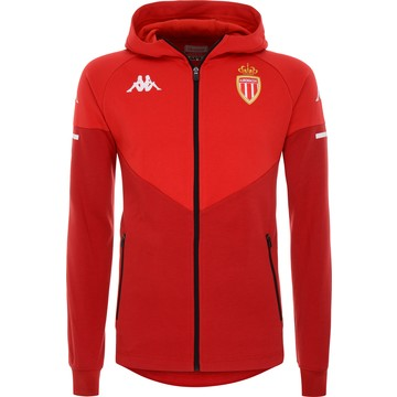 Veste à capuche AS Monaco rouge 2020/21