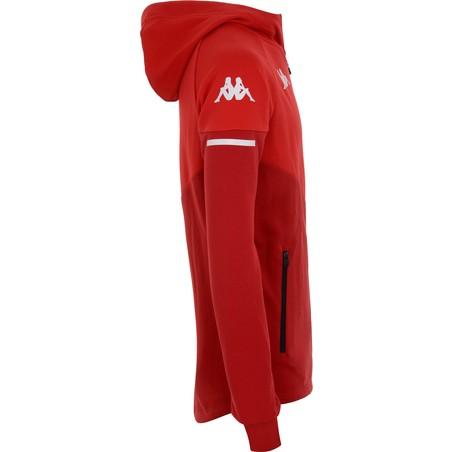 Veste à capuche AS Monaco rouge 2020/21