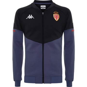 Veste AS Monaco noir bleu 2020/21