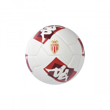 Ballon AS Monaco blanc rouge 2020/21