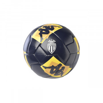 Ballon AS Monaco bleu jaune 2020/21