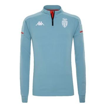 Sweat zippé AS Monaco bleu 2020/21