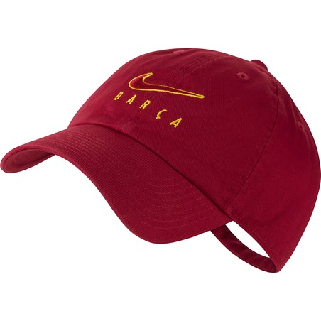 Casquette FC Barcelone Heritage86 rouge 2020/21