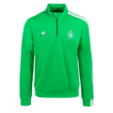 Sweat zippé ASSE vert 2020/21