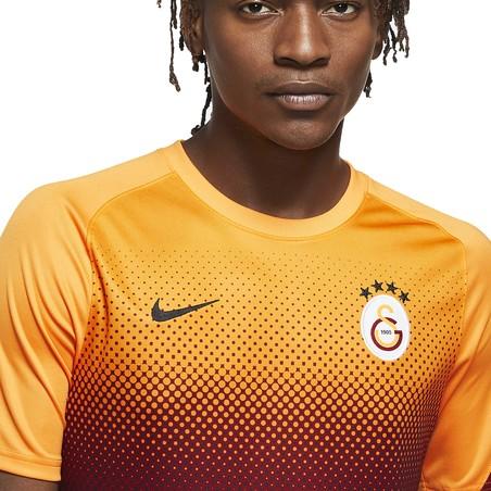 Maillot avant match Galatasaray jaune noir 2020/21