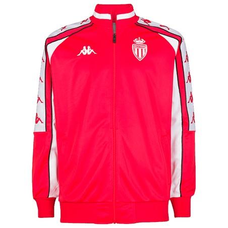 Veste survêtement AS Monaco retro rouge 2019/20