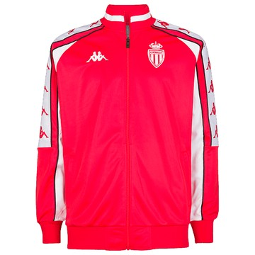 Veste survêtement AS Monaco retro rouge 2019/20