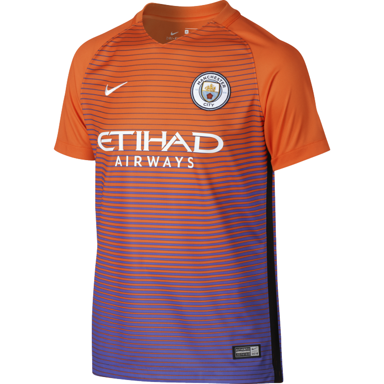 Maillot Third junior Manchester City 2016 - 2017