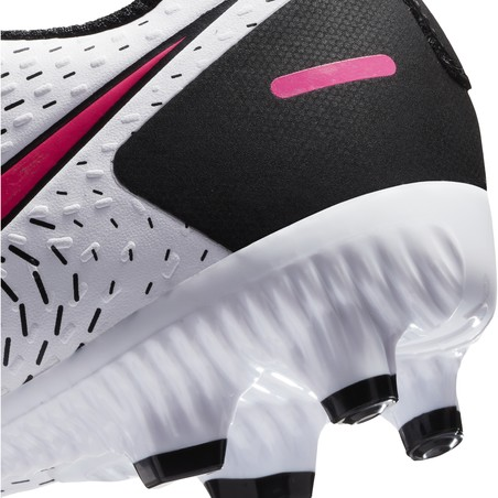 Nike Phantom GT junior Academy FG/MG basse blanc rose