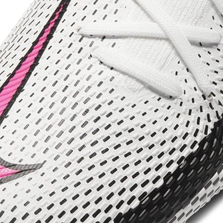 Nike Phantom GT PRO FG basse blanc rose
