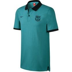 Polo FC Barcelone vert 2016 - 2017