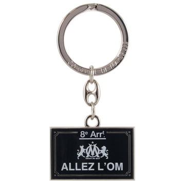 "Porte clef OM ""ALLEZ  L'OM"""