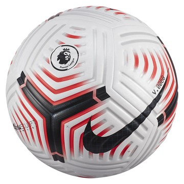 Ballon Premier League Flight authentique blanc rouge