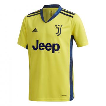 Maillot gardien junior Juventus jaune 2020/21