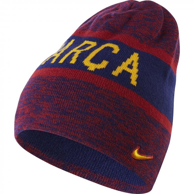 Bonnet FC Barcelone rouge et bleu