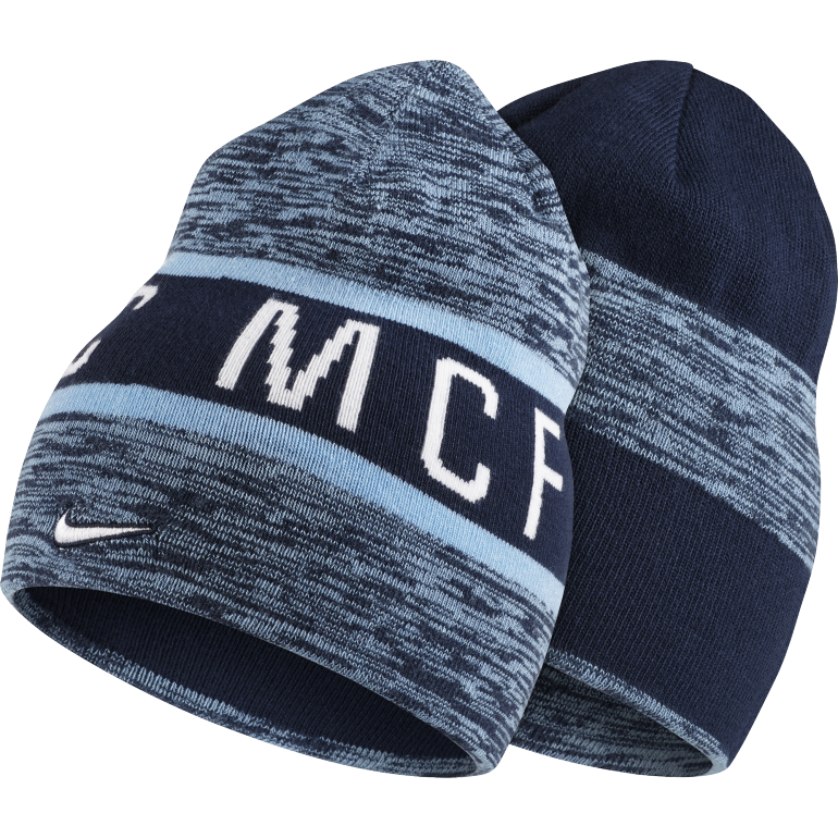 Bonnet Manchester City bleu