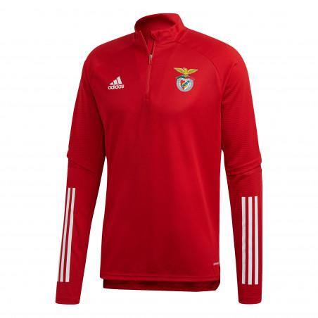 Sweat zippé Benfica rouge 2020/21