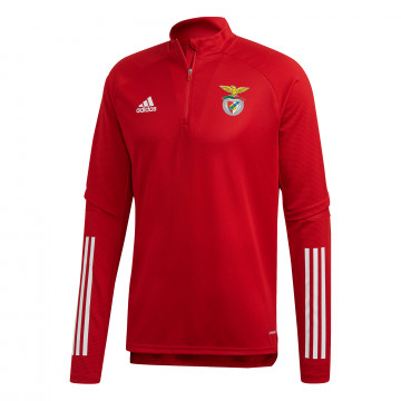 Sweat zippé Benfica rouge 2020/21