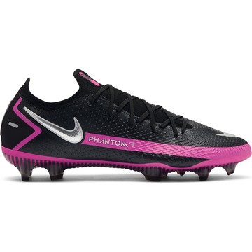 Nike Phantom GT Elite FG basse noir rose