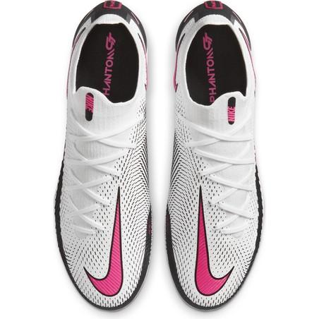 Nike Phantom GT Elite FG basse blanc rose
