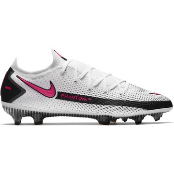 Nike Phantom GT Elite FG basse blanc rose