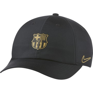 Casquette junior FC Barcelone Heritage 86 noir or 2020/21