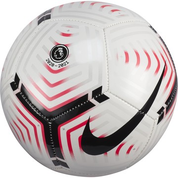 Mini ballon Premier League blanc rose