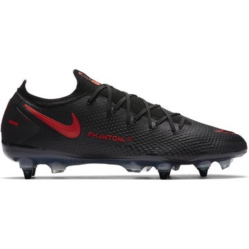 Nike Phantom GT Elite SG-PRO Anti-Clog basse noir rouge