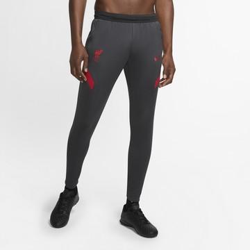 Pantalon survêtement Liverpool noir rouge 2020/21