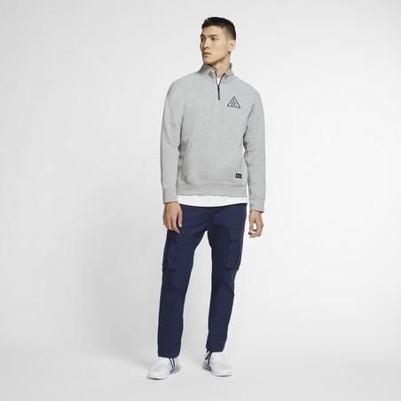 Sweat zippé Liverpool gris 2020/21