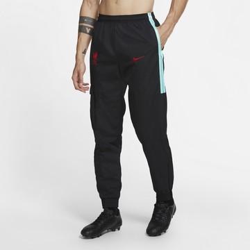 Pantalon survêtement Liverpool cargo noir rouge 2020/21