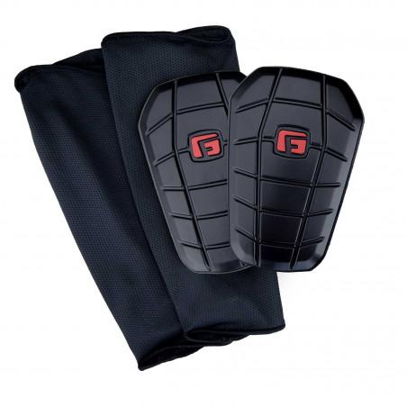 Protège tibias G-Form Pro Blade noir rouge