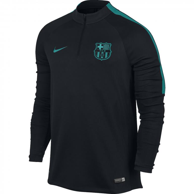 Sweat zippé Squad FC Barcelone 2016 - 2017