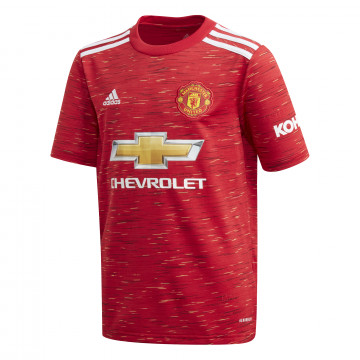 Maillot junior Manchester United domicile 2020/21