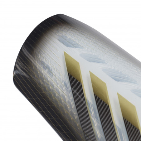Protège tibias adidas X SG blanc or