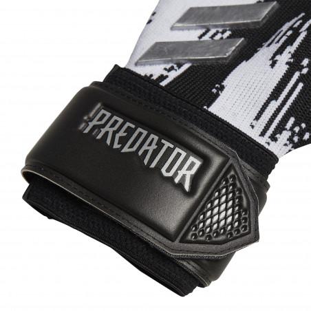 Gants gardien adidas Predator League blanc noir