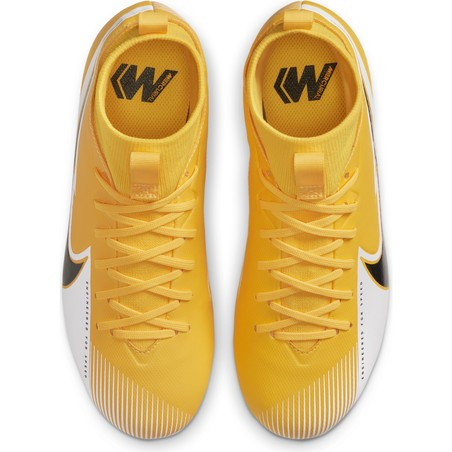 Nike Mercurial Superfly VII junior Academy FG/MG jaune