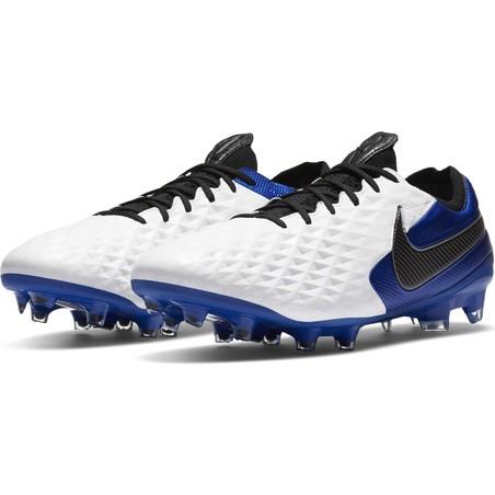 Nike Tiempo Legend 8 Elite FG bleu blanc